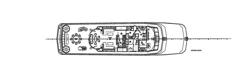 Upper Deck of Yacht